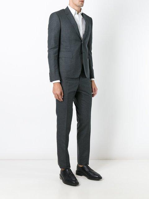 Thom Browne Trouser Suit - Farfetch In Grey