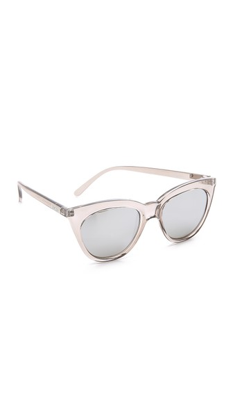 a53b4f881b Le Specs Halfmoon Magic 51Mm Cat Eye Sunglasses - Stone  Silver ...