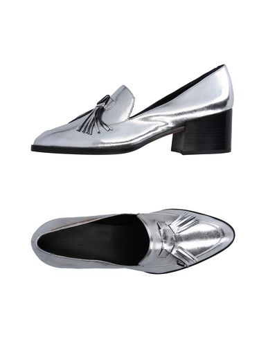 4ee46902d6a Rebecca Minkoff Edie Tassel Metallic Leather Block-Heel Oxfords In Silver