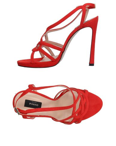 Pinko Sandals In Red