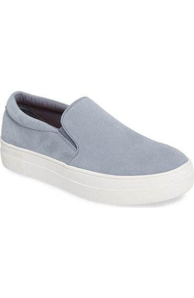 9d84ecf05c6 Steve Madden Gills Platform Slip-On Sneaker In Light Blue