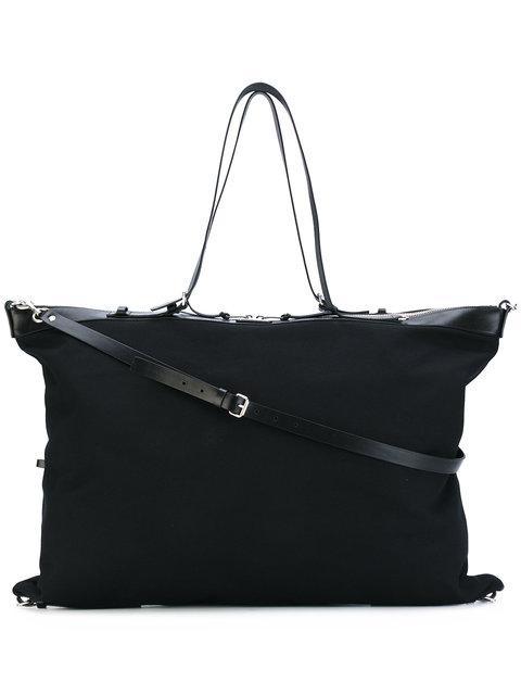 9b1970b33e Saint Laurent Black Large Canvas Id Convertible Bag | ModeSens