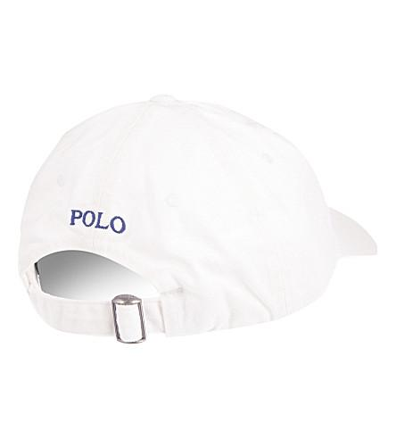 15876d125f4256 Polo Ralph Lauren Classic Pony Baseball Cap In Nubuck/Relay Blue ...