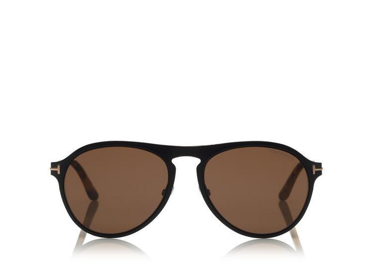 fcc38bf3e7c Tom Ford Bradbury Metal Aviator Sunglasses