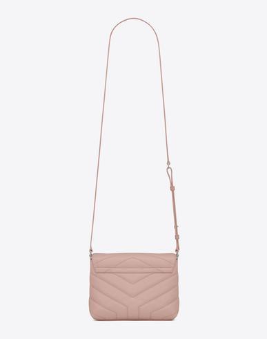 e82ed16de SAINT LAURENT. Loulou Monogram Ysl Mini V-Flap Calf Leather Crossbody Bag  ...