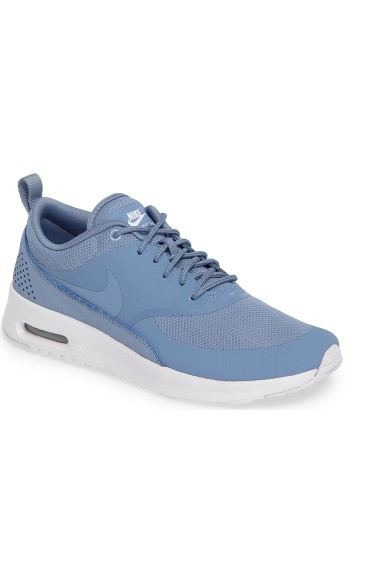 3e46b40b7eb Nike Women S Air Max Thea Running Sneakers From Finish Line In Work Blue   White