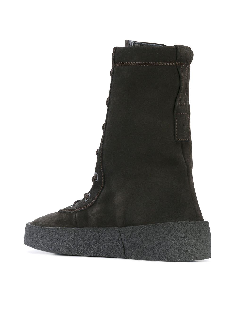 42c98651bbc Yeezy Suede Lace Up Boots