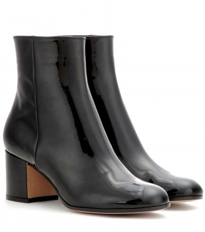 Gianvito Rossi Mytheresa.com Exclusive Patent-leather Ankle Boots In Black