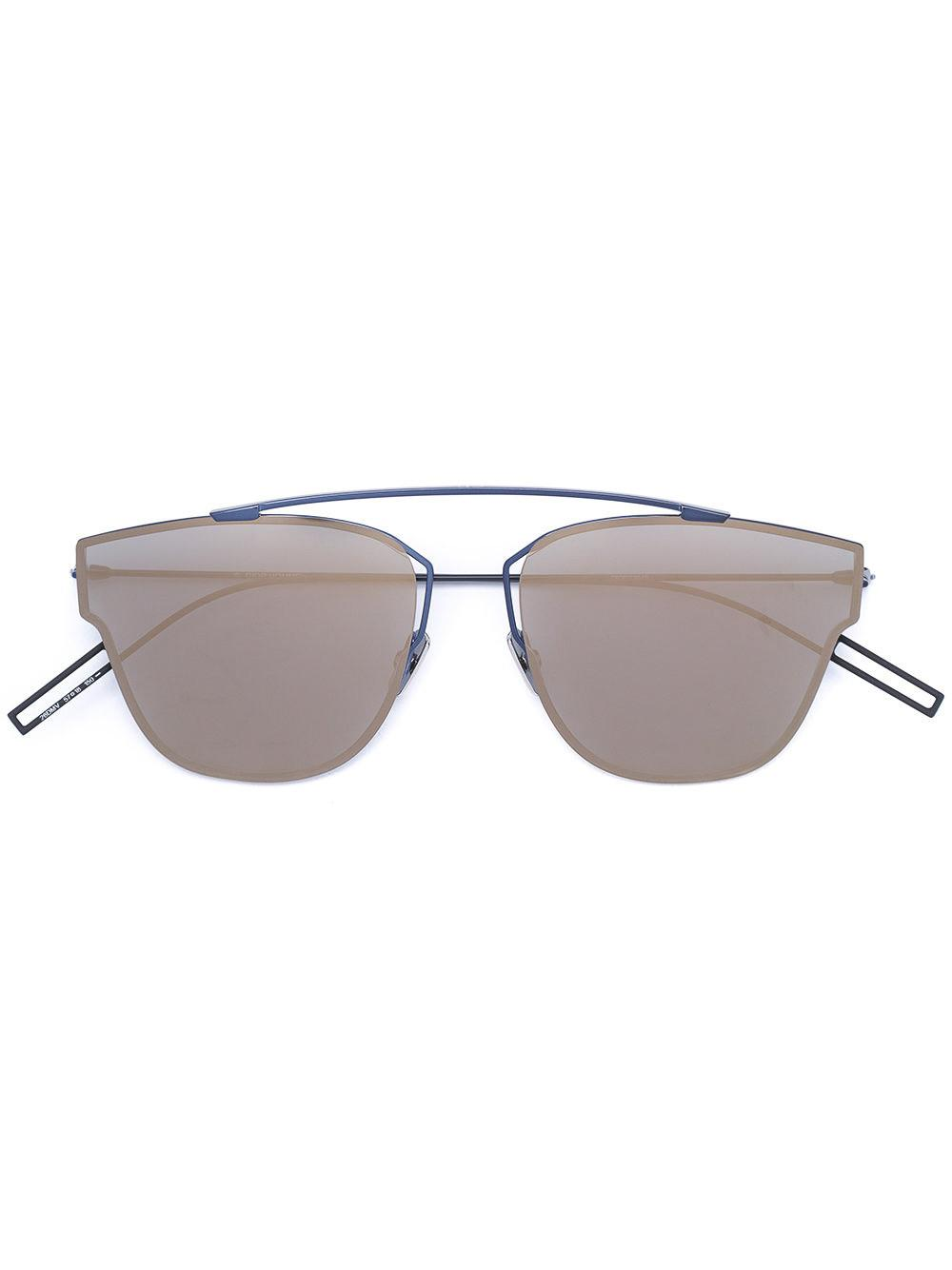 48ef38323d6 Dior  204S  Rimless Aviator Sunglasses