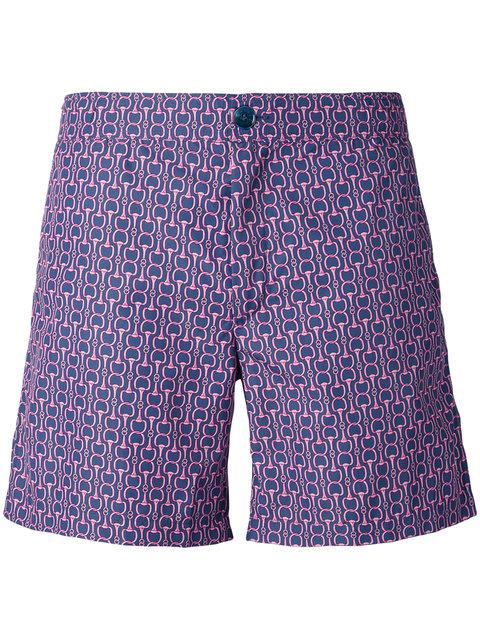 74c1e8f66798b6 Fashion Clinic Timeless Chain Print Swim Shorts - Purple | ModeSens