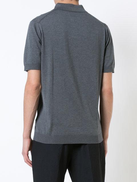 d211f354f John Smedley Adrian Polo Shirt - Grey | ModeSens