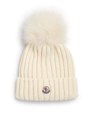 Moncler Knitted Beanie - Pink  83e2316a433