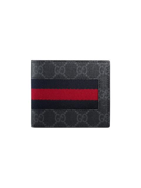 eaf99aa2 Web Gg Supreme Canvas Wallet, Black