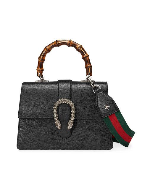 2598e950ab0 Gucci Dionysus Medium Top Handle Bag In Black