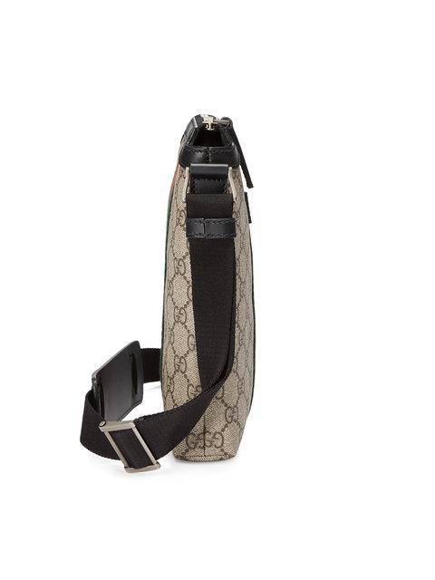 374c3e9224b3 Gucci 'Web Gg Supreme' Messenger Bag In 9692 Beige | ModeSens