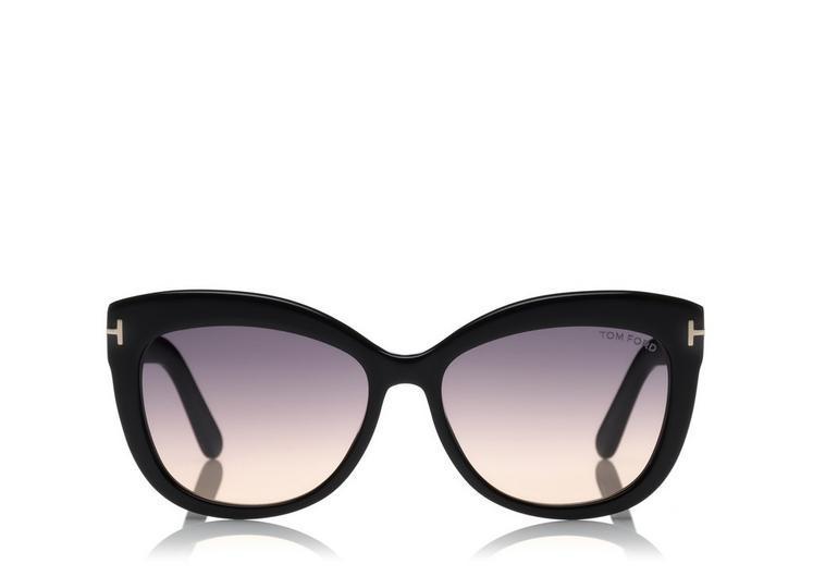 9a9e8f9c7cc6d Tom Ford Women s Allistair Cat Eye Sunglasses