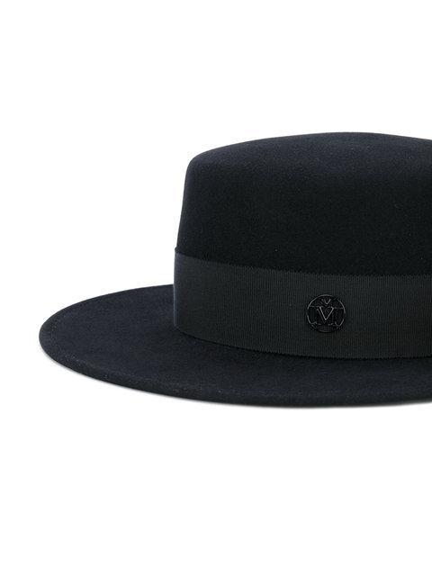 1e5c89d66 Maison Michel Black Felt Waterproof Kiki Hat