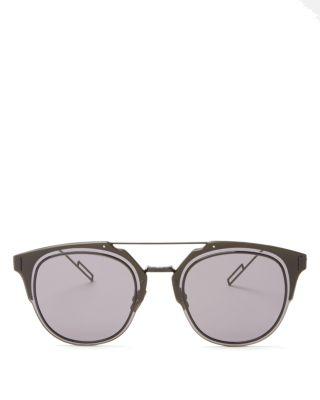0890d39a210 Dior Homme  Composit 1.0S  62Mm Metal Shield Sunglasses - Shiny Blue ...