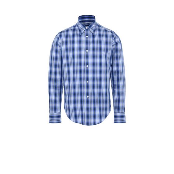 cuadros Camisa de Stella Mccartney clásica Azul tFwqa