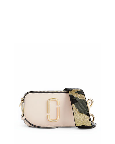 ed65f0508355 Marc Jacobs Snapshot Colorblock Camera Bag In Pale Pink Multi