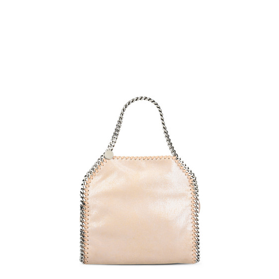 2f903caf55f2 Stella Mccartney Tiny Falabella Metallic Tote In Pink