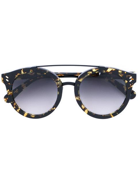 bb74afe81bf Stella Mccartney Eyewear Round Frame Sunglasses - Black