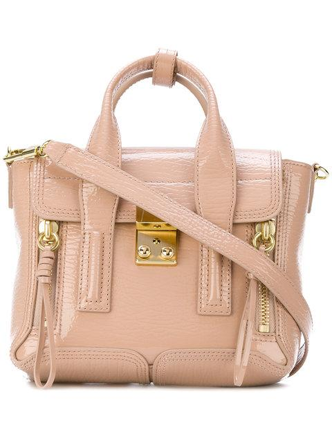 3f33250c3a7 3.1 Phillip Lim Mini Pashli Satchel - Neutrals