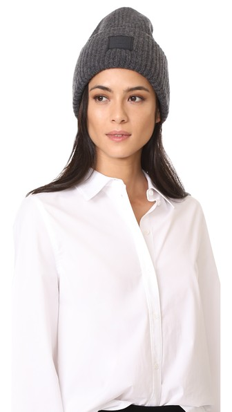e3eae9b997128 Acne Studios Pansy L Face Hat In Charcoal Melange