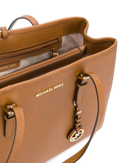 cca81e8f2f2f Michael Michael Kors Jet Set Travel Tote - Farfetch In Neutrals ...