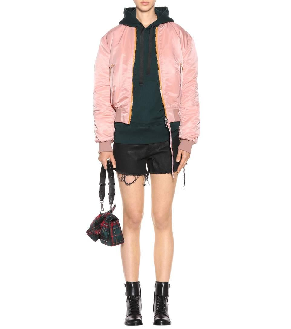 f0f351137 Clea Bomber Jacket in Pink