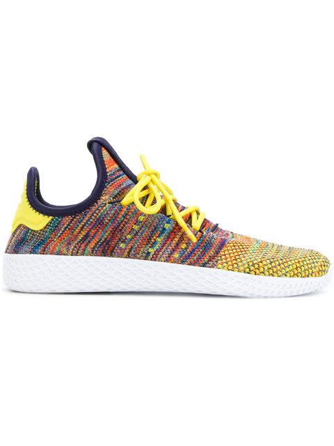 2ccf862c1 Adidas Originals Men S Tennis Hu Primeknit Sneakers In Yellow
