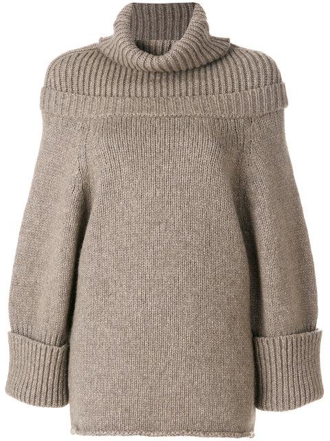 c91e63feb1f0b2 J.W.Anderson Jw Anderson Oversize Sweater - Neutrals