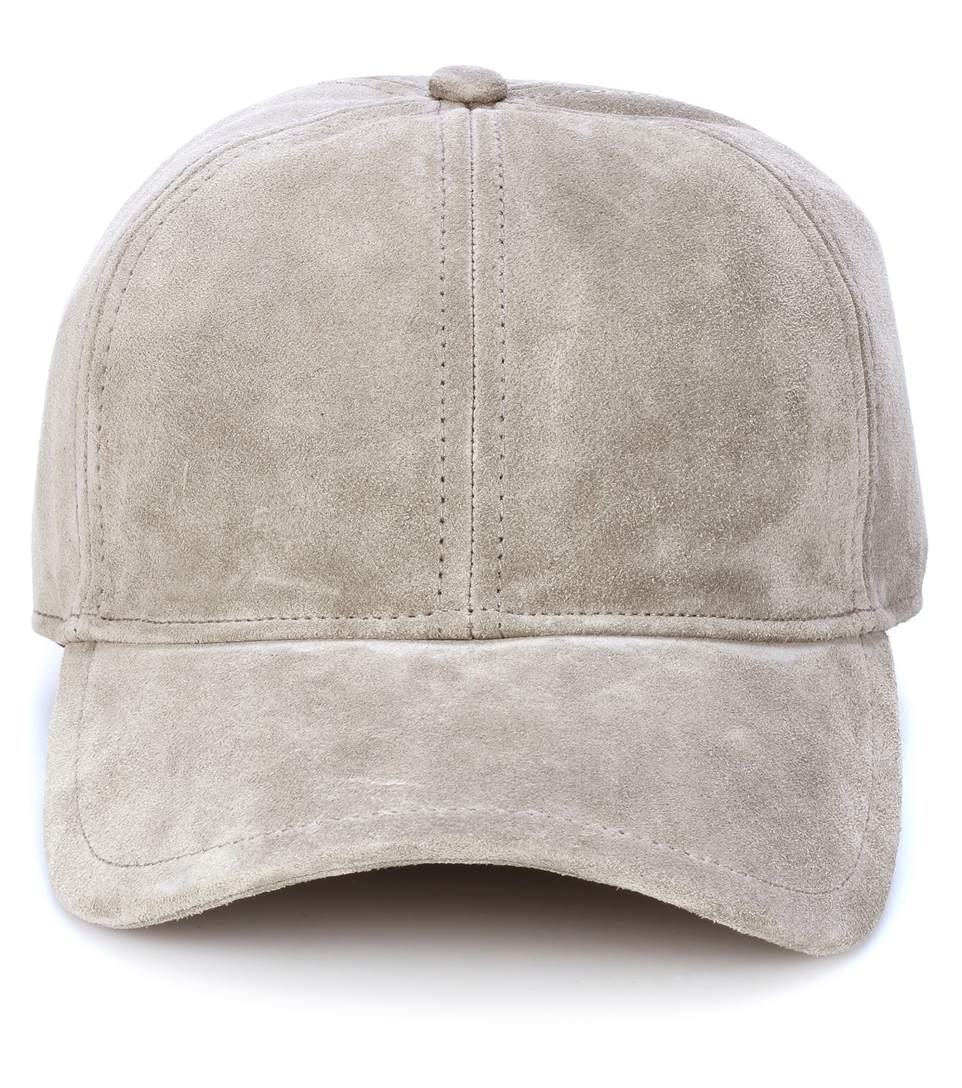 e4e4da63ca772 Rag   Bone Rag And Bone Grey Suede Marilyn Baseball Cap In Gray ...