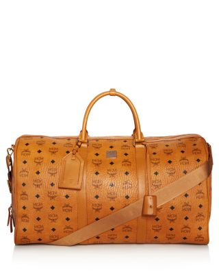b15fd77ca774 Style Name  Mcm Large Voyager Visetos Duffel Bag. Style Number  5407974.  Available in stores.