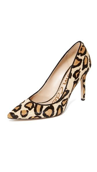 fef232cb1 Sam Edelman Hazel Pumps In New Nude Leopard