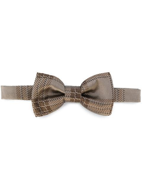 d83f08b23611 Valentino Checked Bow Tie - Brown   ModeSens