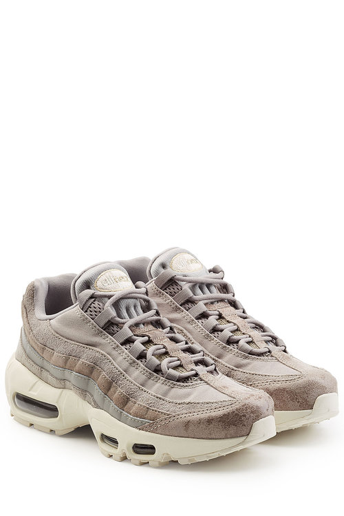 Nike Air Max 95 Sneakers With Suede In Beige | ModeSens