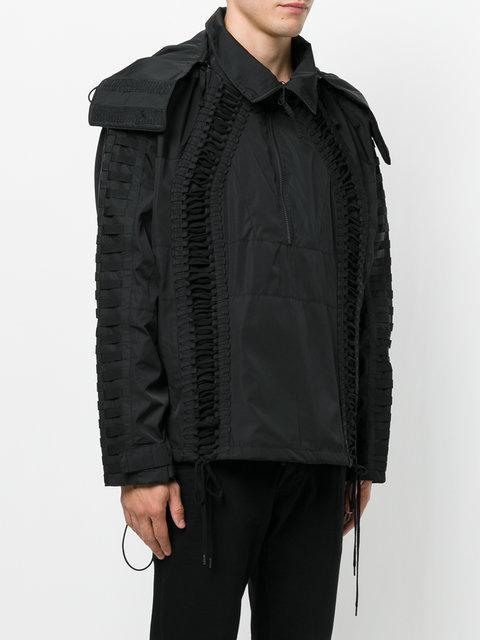 Ktz Lace Up Jacket - Black