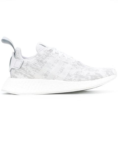 9106a38f36b2 Adidas Originals Adidas Women s Nmd R2 Casual Sneakers From Finish Line In  White
