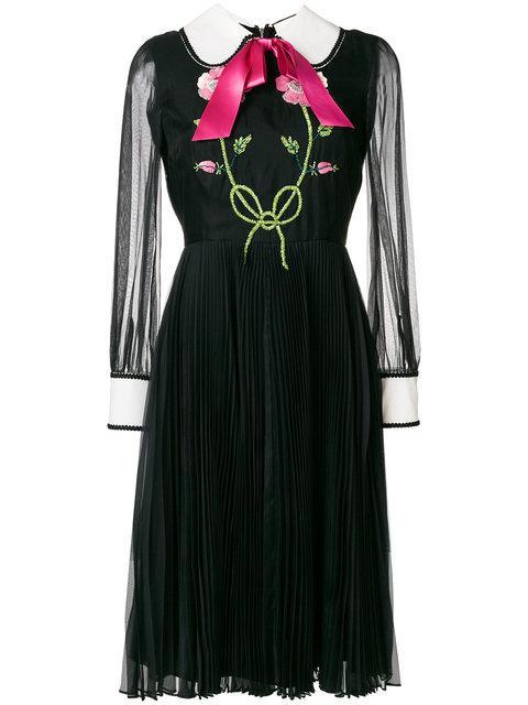 Black Organdy Dress