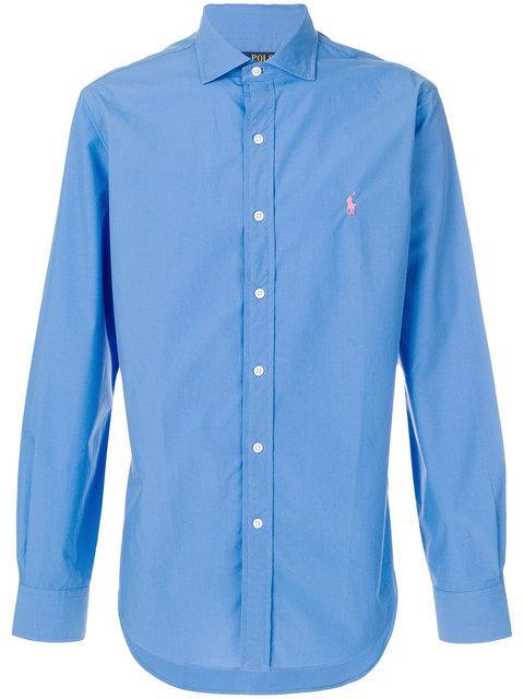 4724c4b78cae2a Polo Ralph Lauren Klassisches Hemd - Blau In Blue