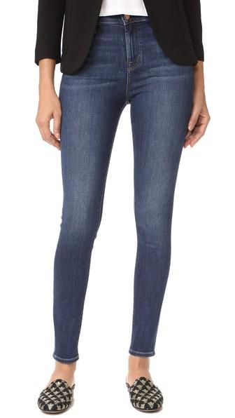 3e7fab25f88 J Brand Maria High Rise Skinny Jeans In Fleeting