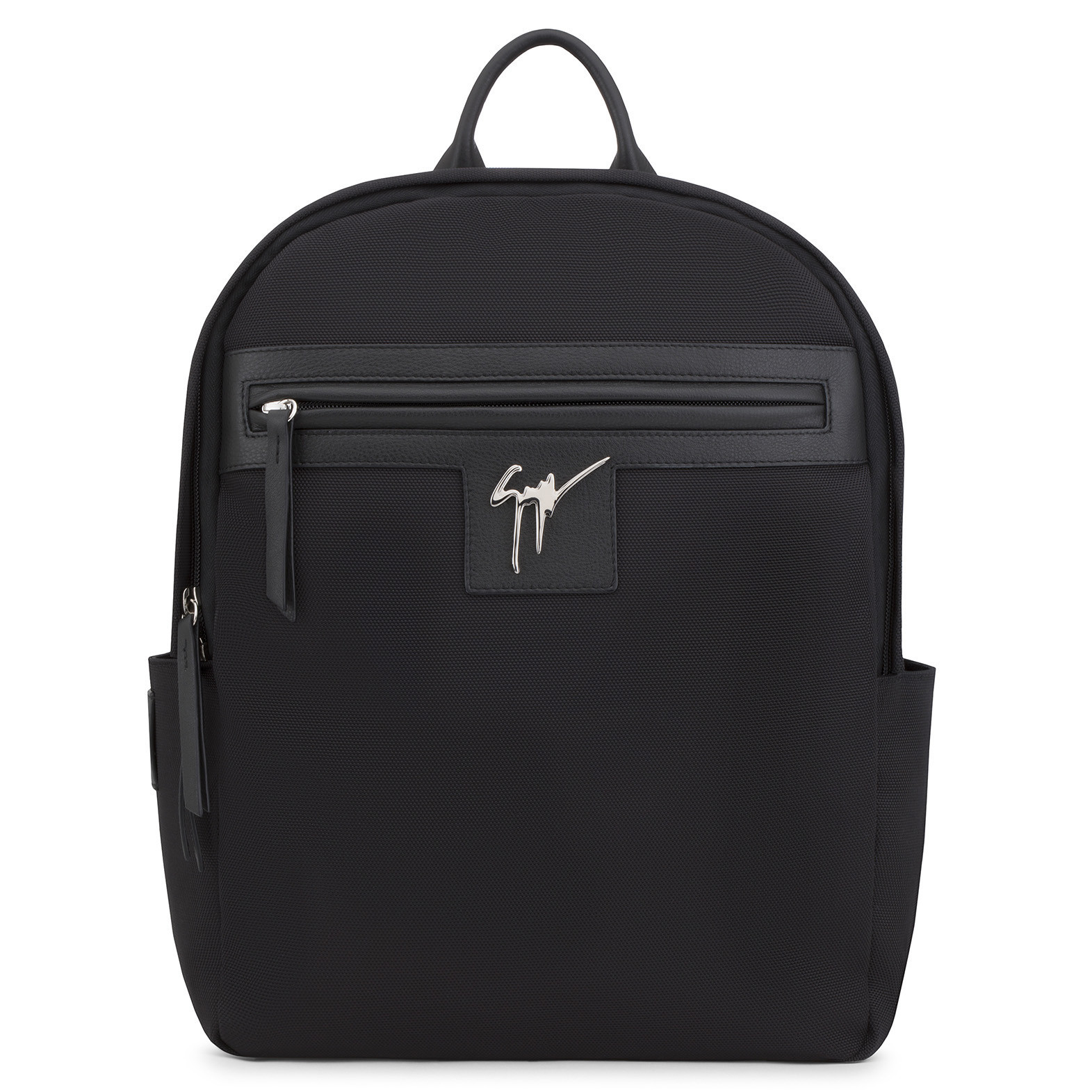 d8048ecc6735c Giuseppe Zanotti - Fabric Backpack With Signature Baron In Black ...