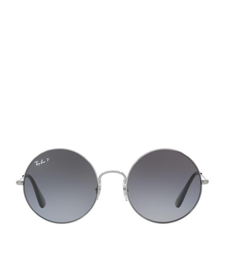 f134eb64ed Ray Ban Ray-Ban Ja-Jo Polarized Round Sunglasses