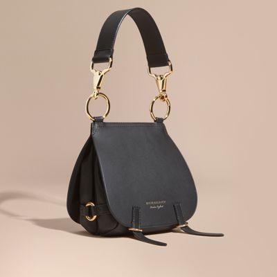 9e54922c9140 Burberry Bridle Grainy Leather Shoulder Bag