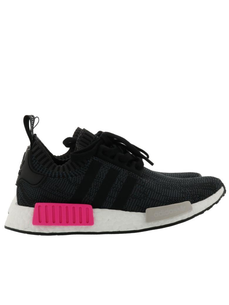 Adidas Originals Women S Nmd R1 Primeknit Casual Shoes Black In