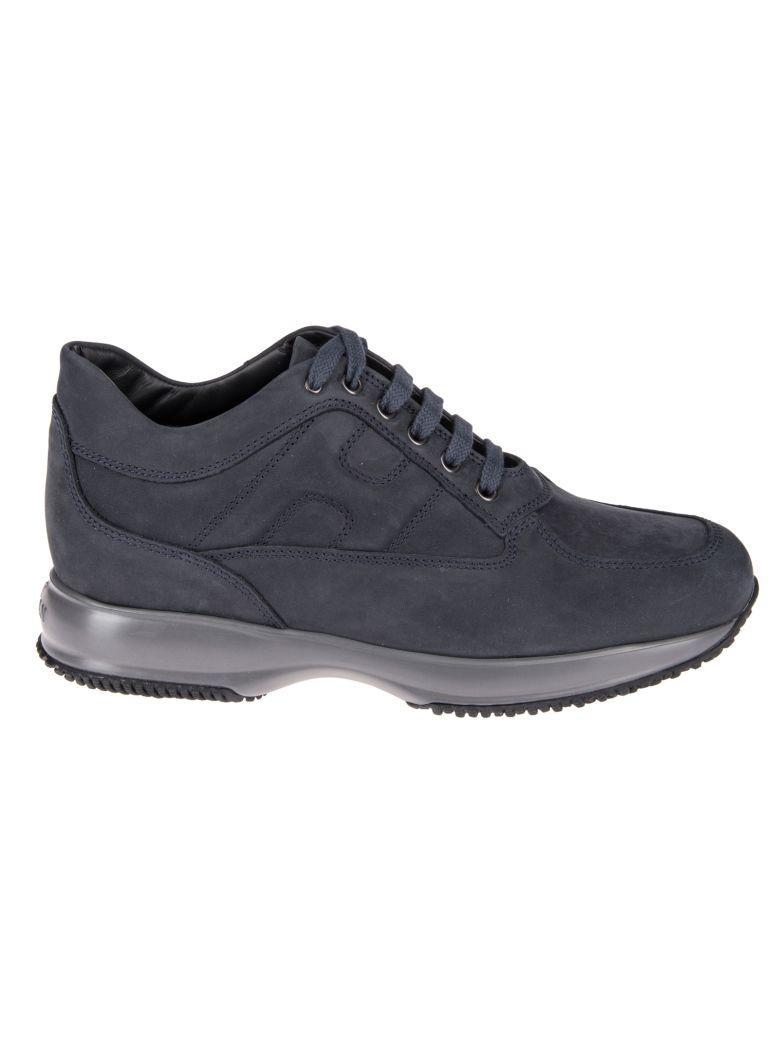 Hogan Interactive Blu Nubuk Sneakers In Blue   ModeSens