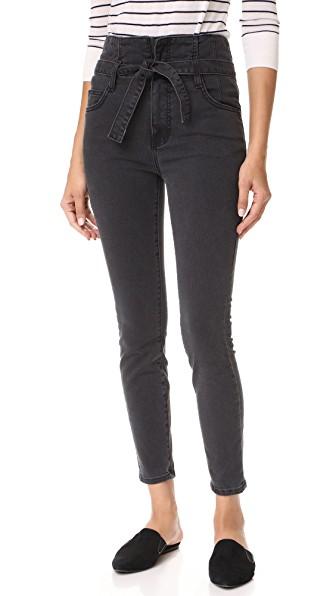 Current Elliott Current/elliott The Corset Stiletto Jeans In Indiana