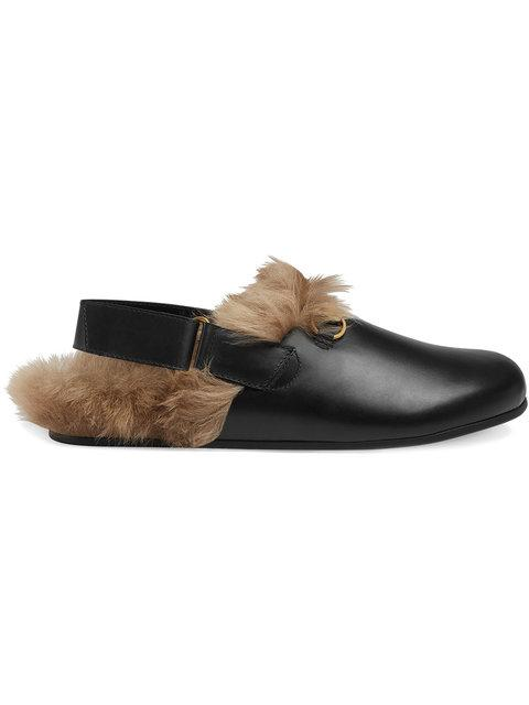 a16f0fae4 Gucci Princetown Leather Slipper In 1076 Black | ModeSens