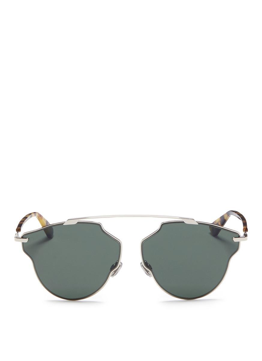92ddbd3b8714 Dior   So Real Pop  Panto Sunglasses. Lane Crawford
